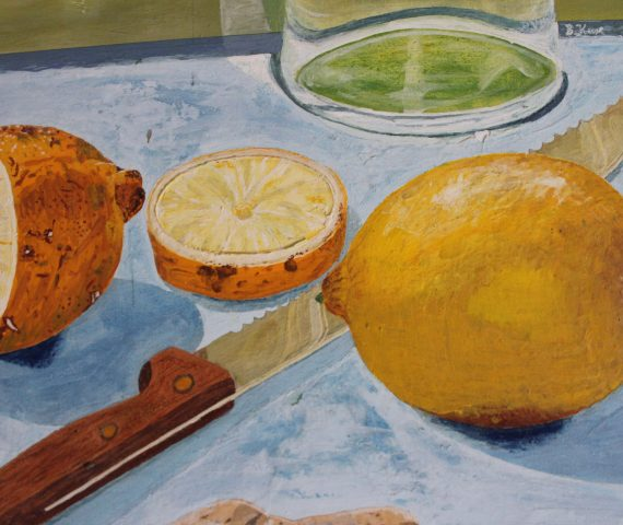 Zitronen Citronen Stilleben